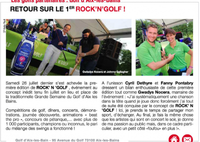 Golf Région – Septembre 2014