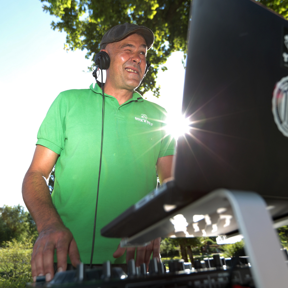 DJ Nico Boutin - ROCK'N'GOLF 2015