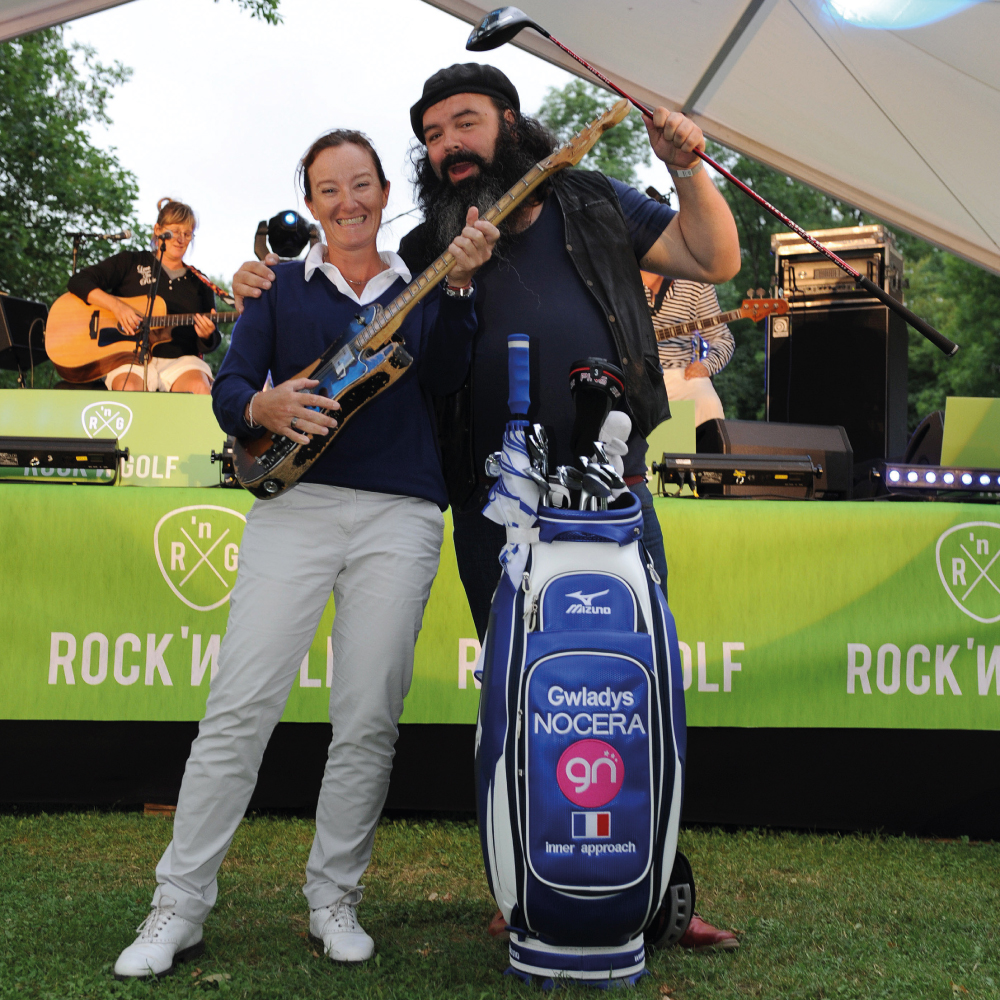 Gwladys Nocera - Johnny Gallagher - ROCK'N'GOLF 2014